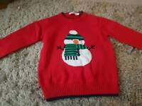 John Lewis Christmas jumper age 2-3 boy or girl