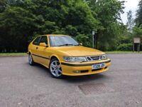 1999 Saab 9-3 SE Sport Monte Carlo Yellow
