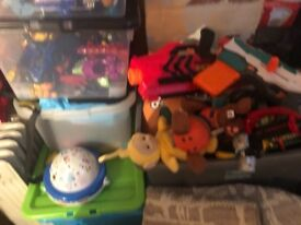 5 Boxes of Kid toys for sale