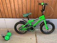 Boys bike 14 inch wheel size