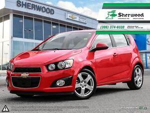 2016 Chevrolet Sonic LT Sunroof/Heated Seats/Alloys & Remote Sta