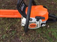 Stihl ms181 chainsaw