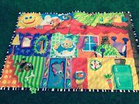 Large baby sensory playmat