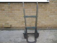 original sack barrow with solid tyres, good condition for its age
