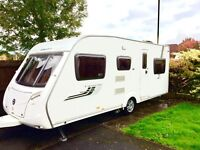 ** 6 Berth Swift Charisma 565, 2009 with awning and motor mover **