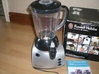 RUSSELL HOBBS BLENDER/SMOOTHIS MAKER/LIQUIDISER WITH FREE JUICES & SMOOTHIE BOOK