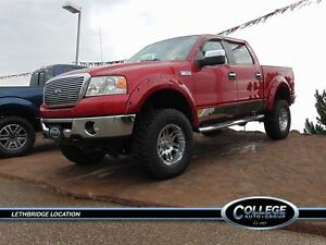 2007 Ford F-150 Lariat- Supercharged and 6- inch lift!
