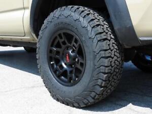 Toyota Tacoma 4Runner FJ Cruiser Winter Wheel and Tire Packages (2018-2019 Winter) .**Wheelsco***