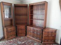 Solid wood furniture sideboards cabinets, dressers shelves