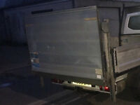 ALUMINUM SLIM JIM TAIL LIFT 500KG. IN PERFECT CONDITION, REMAIN ON PICKUP- BUYER TO CHECK & REMOVE