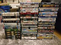 60 dvds plus complete lost and bones