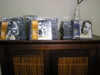 Jazz Greats collection of CD's, 80 CD's in total