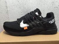 Off white x Nike air presto black