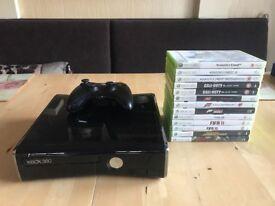 **Xbox 360 Slim 500GB + 13 games**