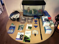 Interpet Tropic LED Complete Aquarium Kit, 32 Litre, 50 cm Bundle