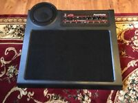 Pedal board with built in amp and speaker and power supply,