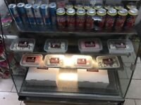 DISPLAY FRIDGE SANDWICH BAR CAKE