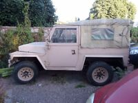 MILITARY LIGHT WEIGHT LANDROVER SERIES 2A