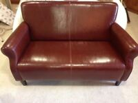 Rustic Leather Sofa 2 + 1