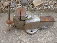 Record No 6 metal work vice, quick release, vgc £25