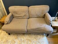 Dunelm two seater sofa