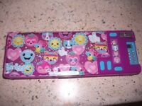 *Brand New* Fun Cool School Pencil Case From Smiggle With School Accessories