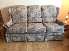 G Plan sofa and armchairs