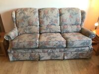 G Plan sofa and armchairs
