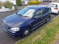 Vauxhall Astra Van 1.7 izuzu mot
