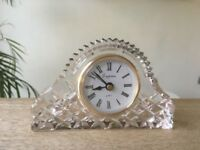 Empress Quartz Crystal Small Mantle Clock