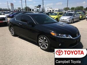 2013 Honda Accord EX-L--BLACK ON HEATED BLACK LEATHER-NAV--ROOF