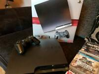 Ps3 console with 18 games in excellent condition