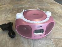 Philips CD player with radio