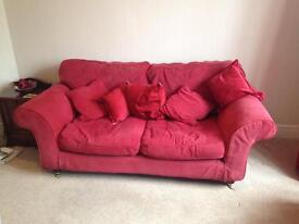 3 seater, 2 Seater and Footstool
