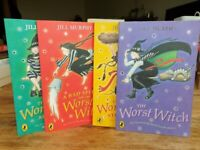 4 x The Worst Witch books by Jill Murphy in very good condition