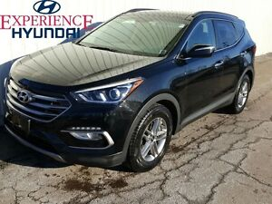 2017 Hyundai Santa Fe Sport LIKE-NEW WITH ALL WHEEL DRIVE  LOW K