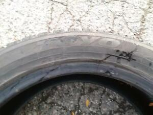 p245/50R20X4(TOYOTA VENZA) TOYO OBSERVE G2 USED FOR SALE
