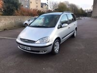 7 SEATS FORD GALAXY-1.9 TDi 6 SPEED GEARBOX-YEAR MOT-FULL SERVICE HISTORY-VERY LOW ON FUEL-GREAT CAR