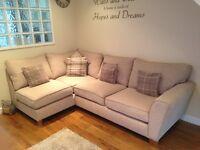 7month old Lshape sofa