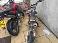 2bikes for your 1 demon x an derbi citycross