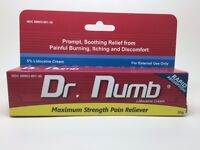 Dr Numb Numbing Cream 30gm Tube UK Stock