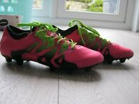 Adidas X 15.1 Football boots in good condition - size 10