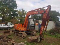 Hitachi ex60 6 ton digger