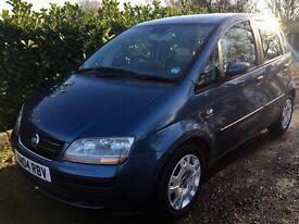 2004 Fiat Idea 1.4, 12 months MOT, 74k miles, HPI clear