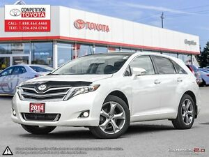 2014 Toyota Venza Base V6 Toyota Serviced