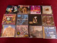 classic rock/metal cds joblot x 73