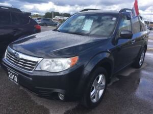 2010 Subaru Forester 2.5X Limited at Multimedia Leather,Roof,H.S