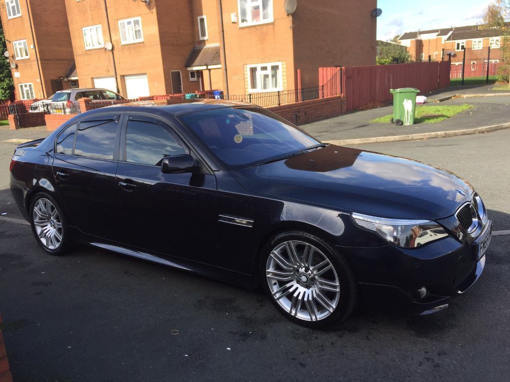 BMW 525d M sport Auto, HPI clear 55reg