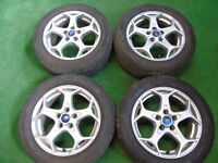 """FORD C-MAX, FOCUS, GALAXY, TRANSIT CONNECT, S-MAX, MONDEO 16"""" inch ALLOY WHEELS"""
