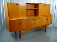 G Plan Fresco Tall Sideboard Retro Vintage Furniture